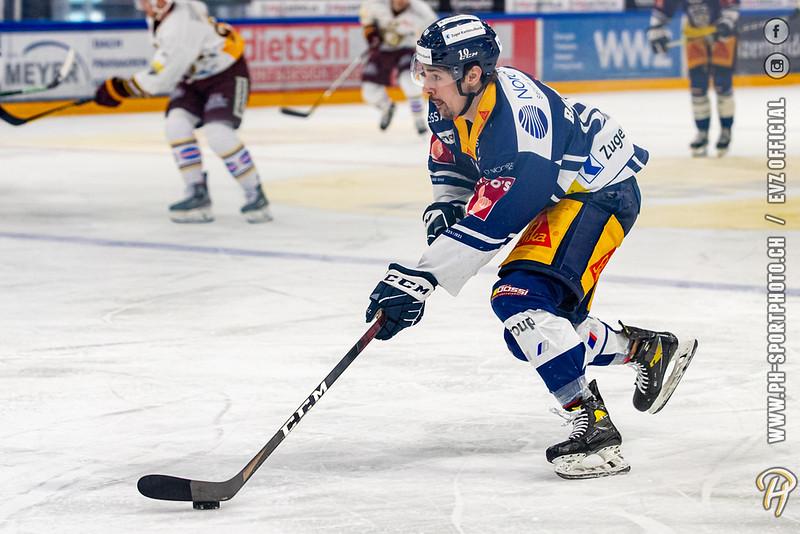 National League - 20/21: EV Zug - Genève Futur Hockey - 24-03-2021