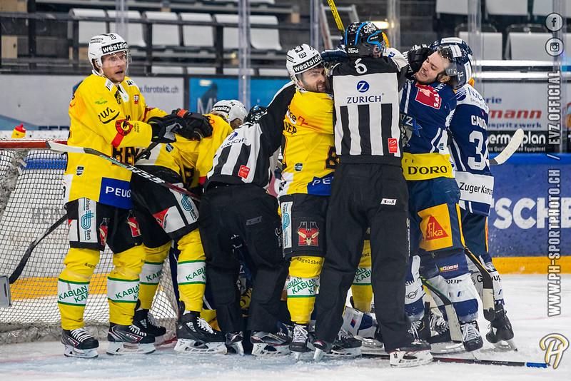 National League - 20/21: EV Zug - SC Bern - 13-04-2021