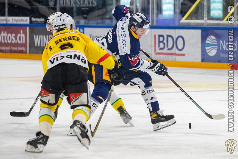 National League - 20/21: EV Zug - SC Bern - 21-04-2021