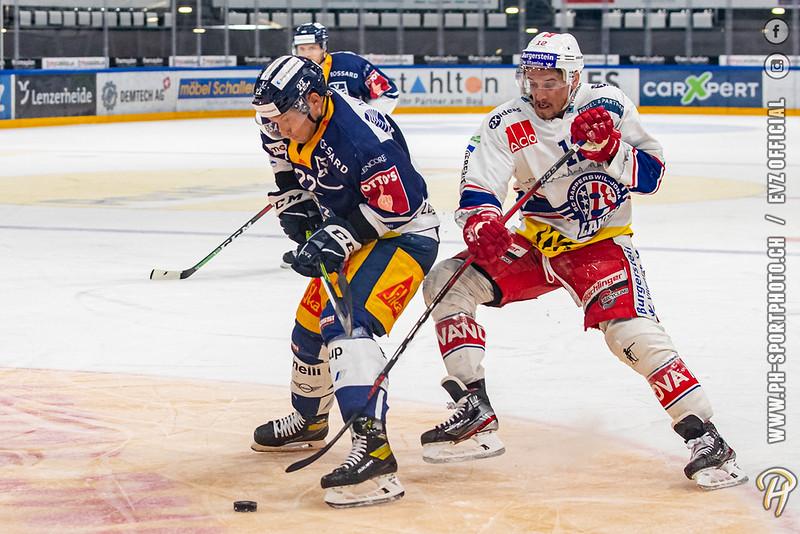 National League - 20/21: EV Zug - SC Rapperswil-Jona Lakers - 25-04-2021