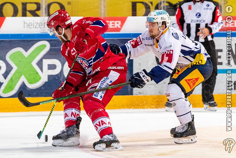 National League - 20/21: SC Rapperswil-Jona Lakers - EV Zug - 01-05-2021