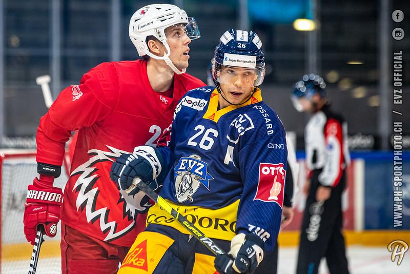 National League - 21/22: EV Zug - Lausanne HC - 10-08-2021
