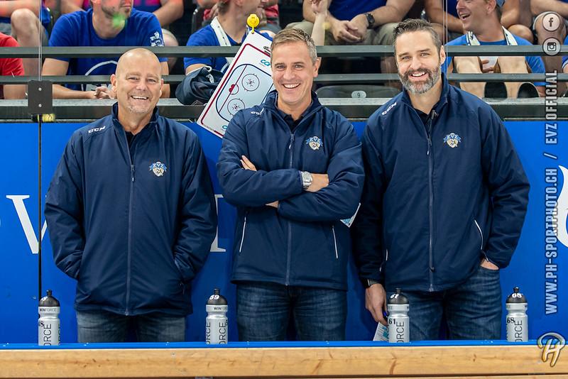 National League - 21/22: EV Zug - Adler Mannheim - 13-08-2021
