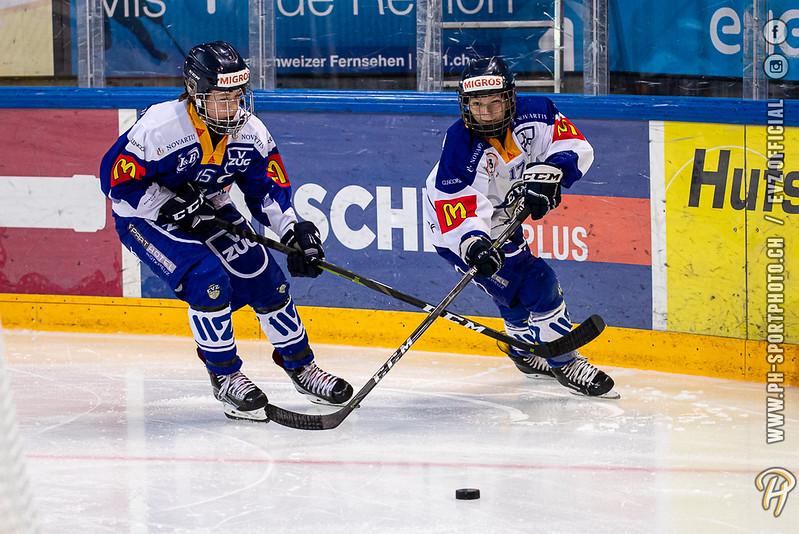 U15 - 19/20: EV Zug Weiss - EV Zug Blau - 18-08-2019