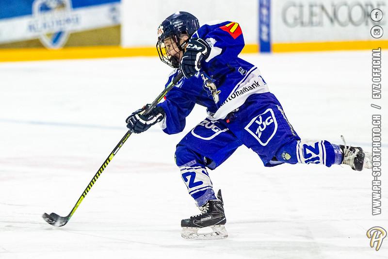 U15-Elit - 19/20: EV Zug - HC La Chaux-de-Fonds - 21-12-2019