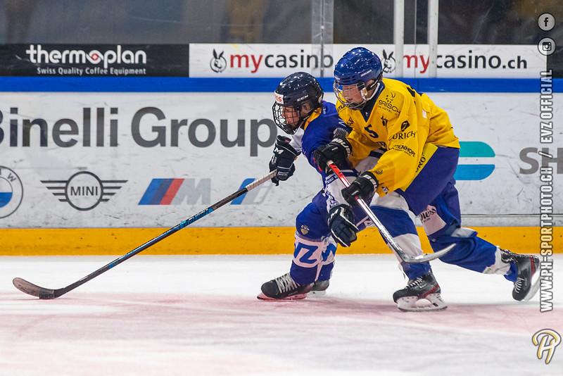 U15-Elit - 20/21: EV Zug - HC Davos - 23-08-2020