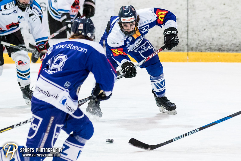 Novizen Elite Playoffs - Viertelfinal - Spiel 3: EV Zug - Gottéron MJ Sàrl - 5:4 OT