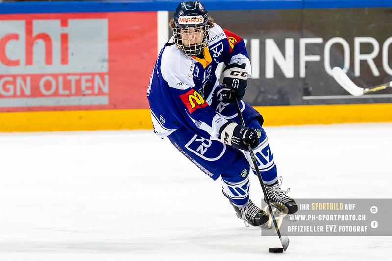 Novizen Elite - 18/19: EV Zug - HC Davos - 08-12-2018