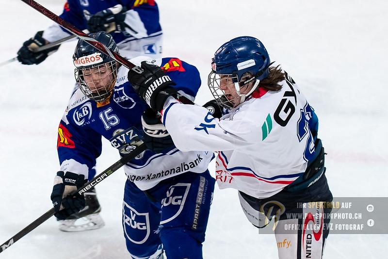 Novizen Elite - Playoff Viertelfinal - Spiel 1 - 18/19: EV Zug - EHC Kloten - 06-03-2019