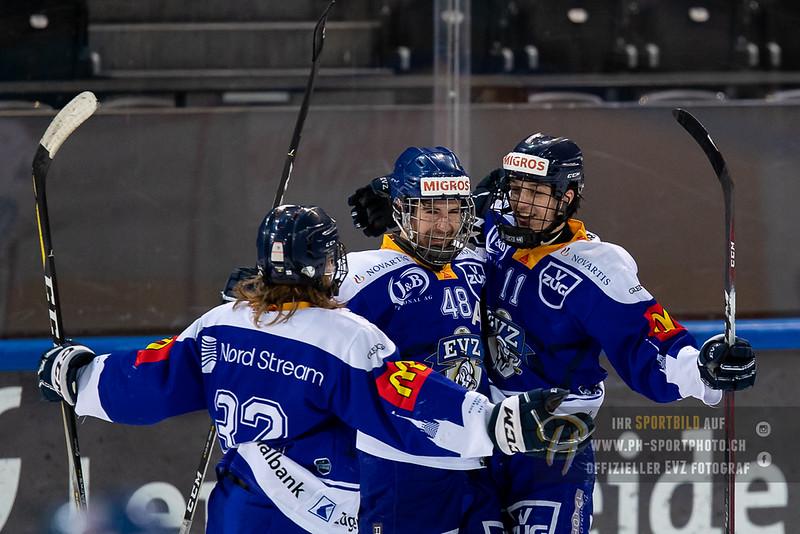 Novizen Elite - Playoff Viertelfinal - Spiel 3 - 18/19: EV Zug - EHC Kloten - 10-03-2019