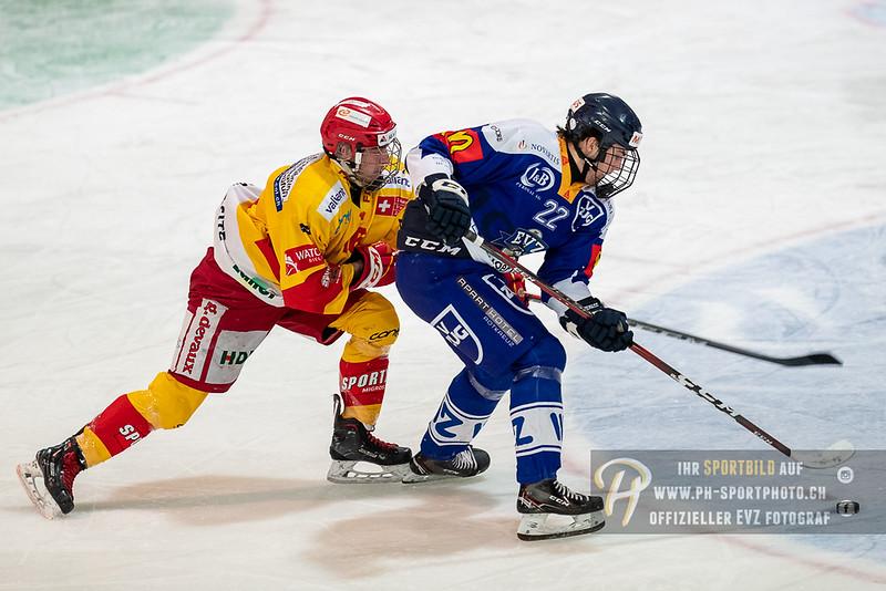 Novizen Elite - Playoff Halbfinal - Spiel 1 - 18/19: EV Zug - EHC Biel-Bienne Spirit - 17-03-2019