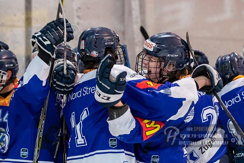 Novizen Elite - Playoff Halbfinal - Spiel 3 - 18/19: EV Zug - EHC Biel-Bienne Spirit - 22-03-2019