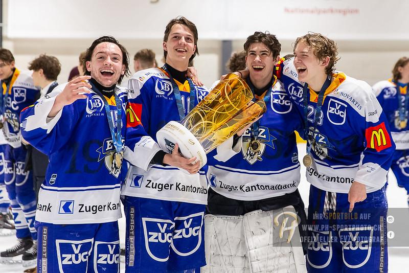 Novizen Elite Junioren - Finalissima 2019 - Rückspiel - 18/19: EV Zug - SCL Young Tigers - 31-03-2019