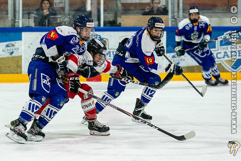U17-Elit - 19/20: EV Zug - SC Rapperswil-Jona Lakers - 16-11-2019