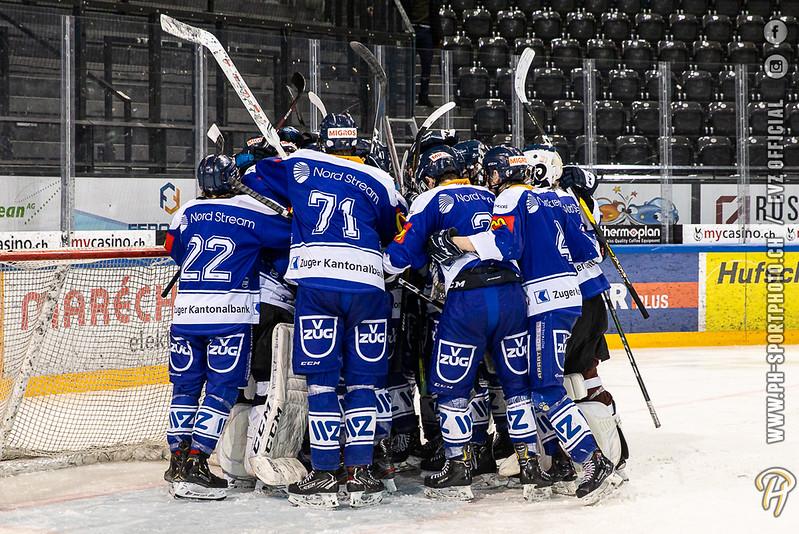 U17-Elit - 19/20: EV Zug - Gottéron MJ (HC Fribourg Gottéron) - 26-01-2020