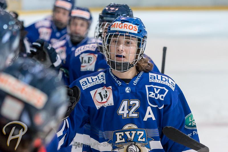 Novizen Elite: EV Zug - EHC Biel-Bienne Spirit - 3:4