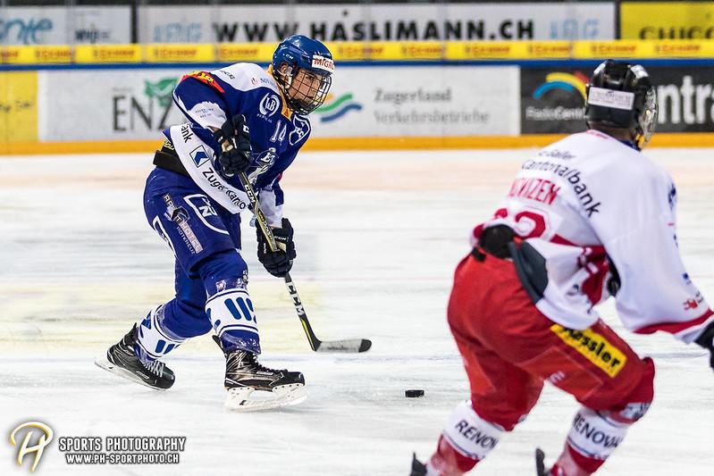Novizen Elite Junioren: EV Zug - SC Rapperswil-Jona Lakers - 8:2