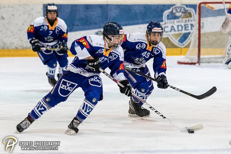 Novizen Elite: EV Zug - EHC Kloten - 3:2 OT