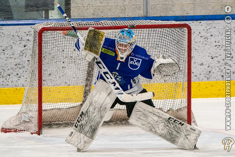 U17-Elit - 20/21: EV Zug - Genève Futur Hockey - 21-02-2021