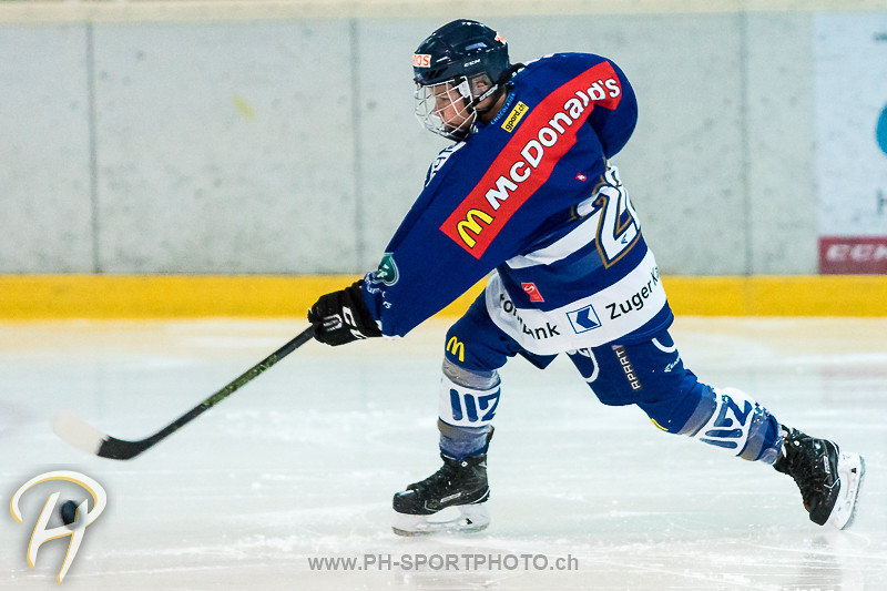 Novizen Elite: EV Zug - Lausanne 4 Clubs - Warm Up