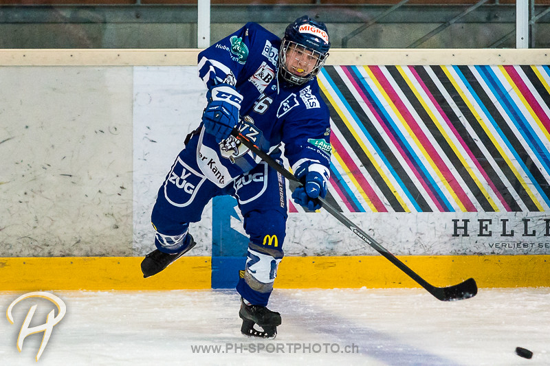Novizen Elite: EV Zug - Lausanne 4 Clubs - Warm Up