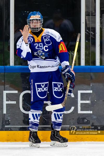 Junioren A - 18/19: EV Zug - EHC Sursee - 20-10-2018