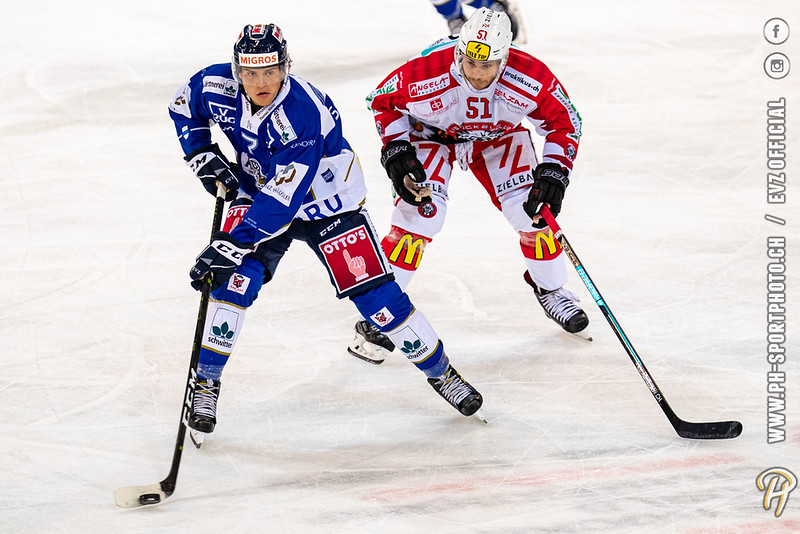 Swiss League - 19/20: EVZ Academy - EHC Winterthur - 28-08-2019