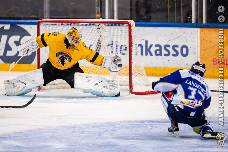 Swiss League - 19/20: EVZ Academy - Waterloo Warriors (University of Waterloo) - 02-09-2019