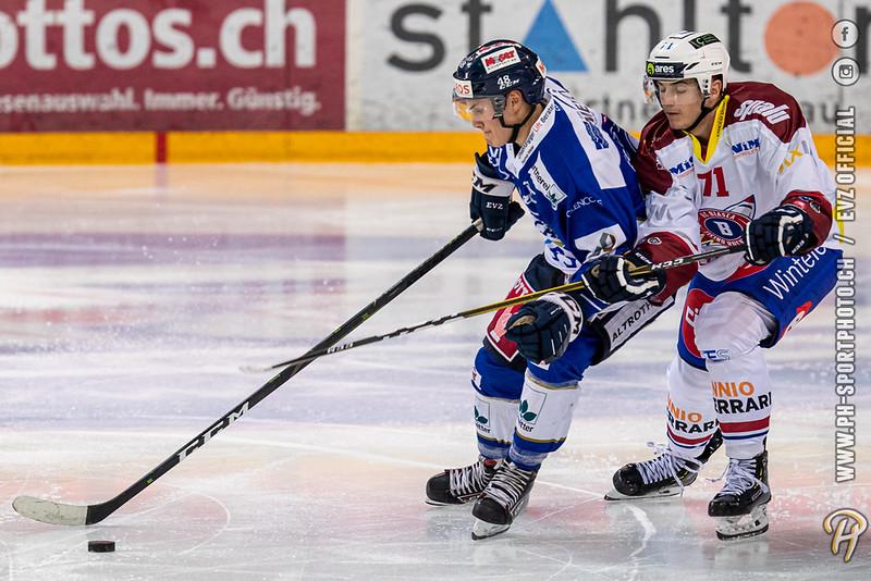 Swiss League - 19/20: EVZ Academy - HC Biasca Ticino Rockets - 19-09-2019