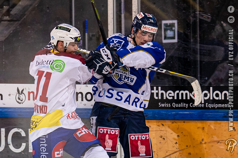 Swiss League - 19/20: EVZ Academy - HC Biasca Ticino Rockets - 19-09-2019