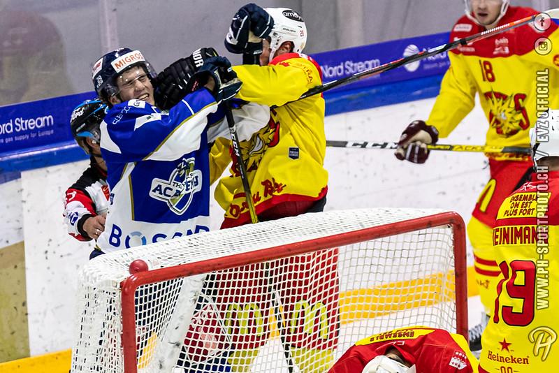 Swiss League - 19/20: EVZ Academy - HC Sierre - 02-10-2019