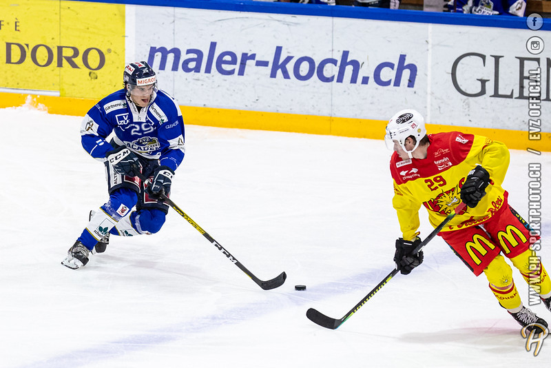 Swiss League - 19/20: EVZ Academy - HC Sierre - 02-10-2019