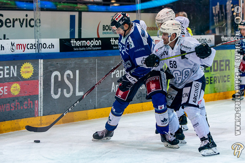 Swiss League - 19/20: EVZ Academy - HC La Chaux-de-Fonds - 04-10-2019