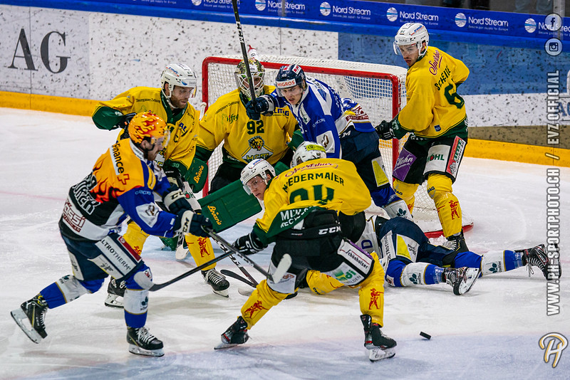 Swiss League - 19/20: EVZ Academy - HC Thurgau - 08-10-2019