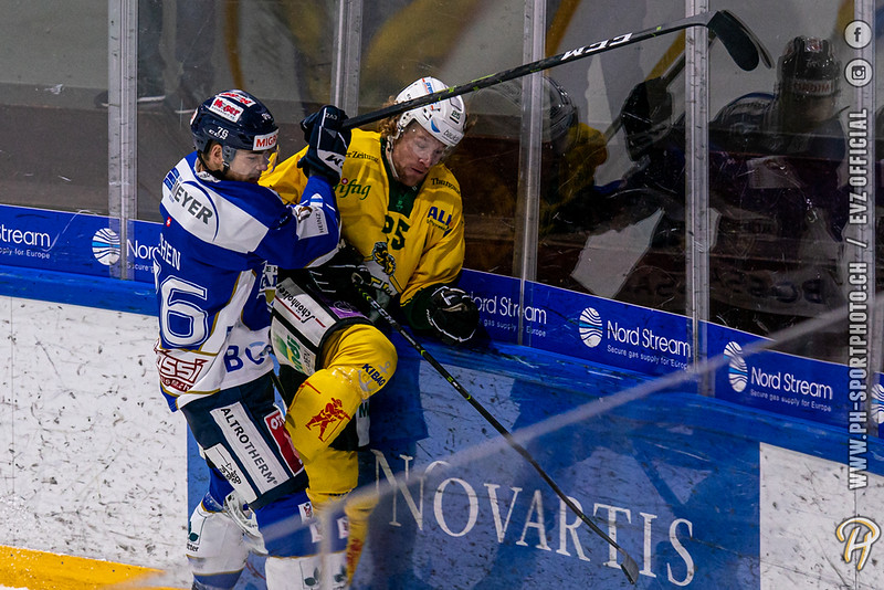 Swiss League - 19/20: EVZ Academy - HC Thurgau - 08-10-2019