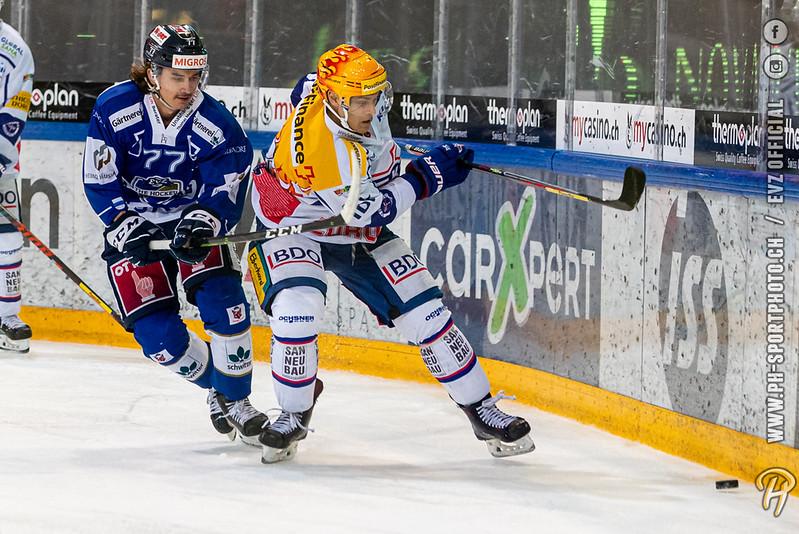 Swiss League - 19/20: EVZ Academy - EHC Kloten - 12-10-2019