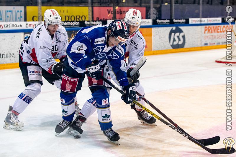 Swiss League - 19/20: EVZ Academy - EHC Visp - 17-10-2019
