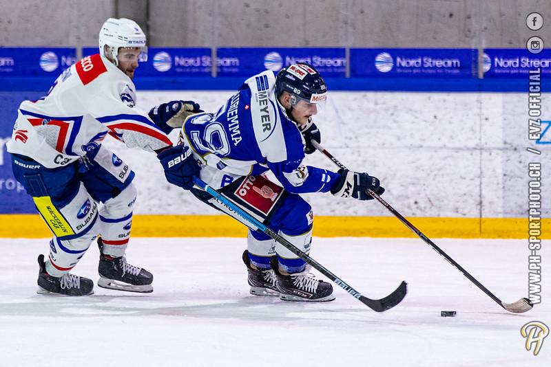 Swiss League - 19/20: EVZ Academy - GCK Lions - 17-11-2019
