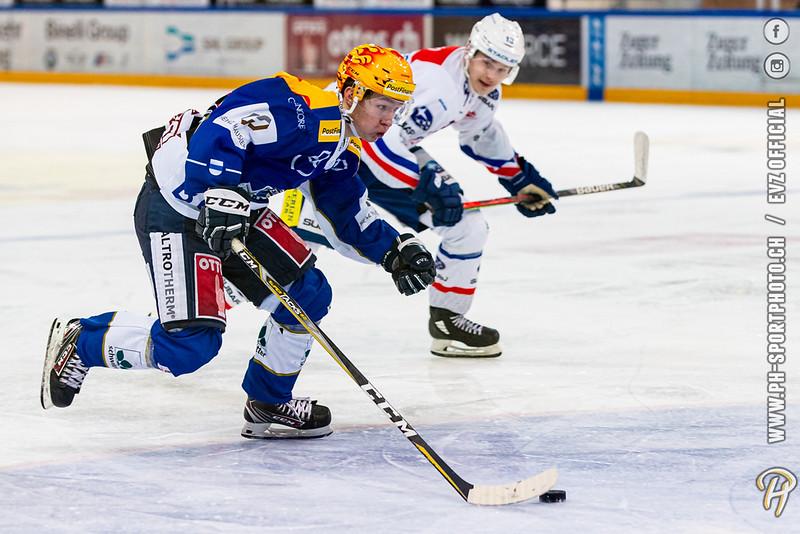 Swiss League - 19/20: EVZ Academy - GCK Lions - 27-12-2019