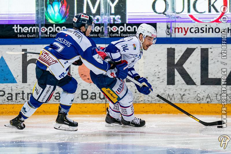Swiss League - 19/20: EVZ Academy - EHC Kloten - 02-01-2020