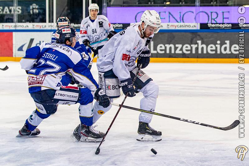 Swiss League - 19/20: EVZ Academy - HC La Chaux-de-Fonds - 18-01-2020
