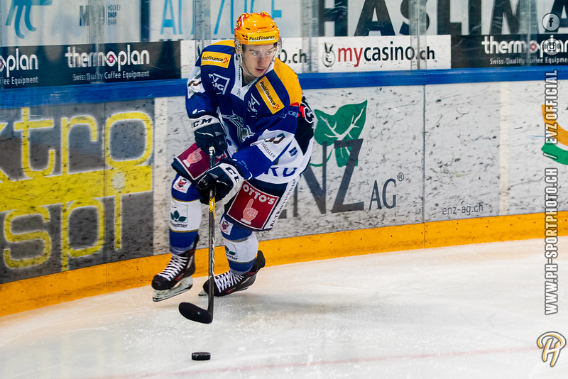 Swiss League - 19/20: EVZ Academy - HC La Chaux-de-Fonds - 18-01-2020