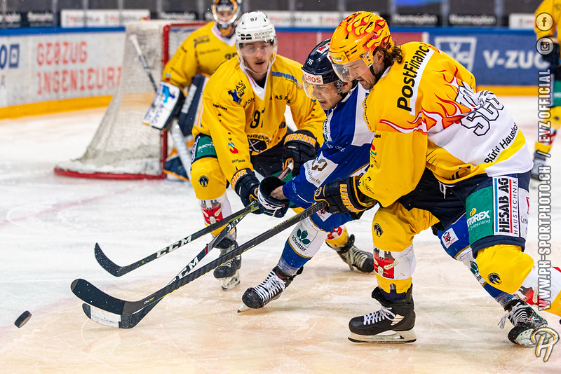 Swiss League - 19/20: EVZ Academy - SC Langenthal - 23-01-2020