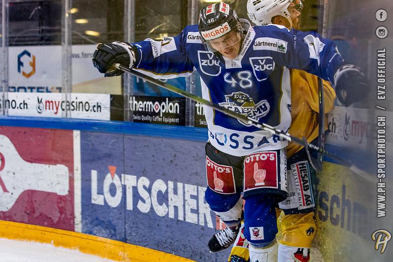Swiss League - 19/20: EVZ Academy - SC Langenthal - 23-01-2020