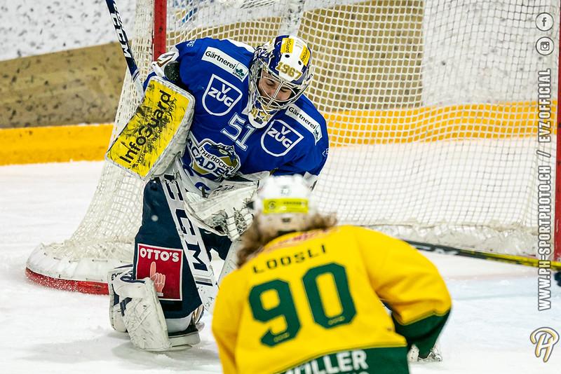 Swiss League - 19/20: EVZ Academy - HC Thurgau - 28-01-2020