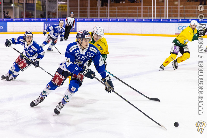 Swiss League - 19/20: EVZ Academy - HC Thurgau - 28-01-2020
