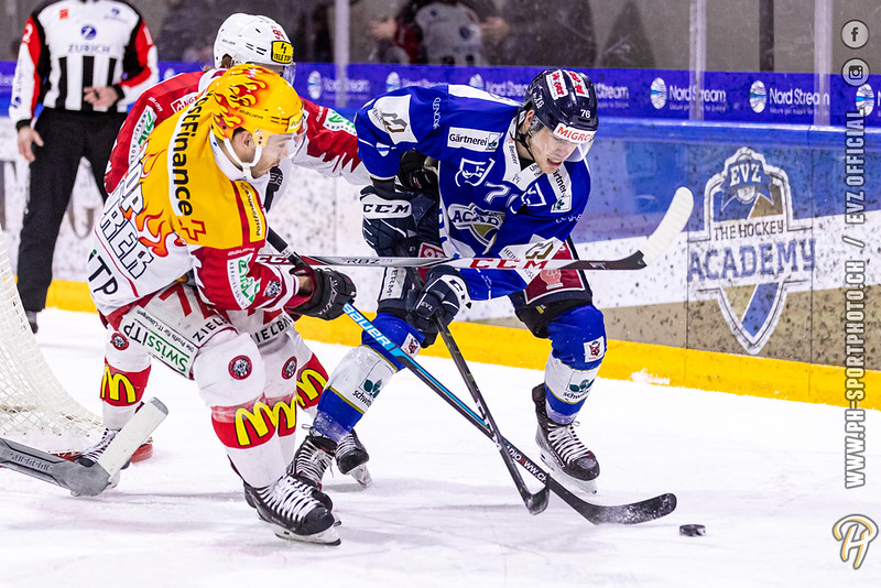 Swiss League - 19/20: EVZ Academy - EHC Winterthur - 01-02-2020