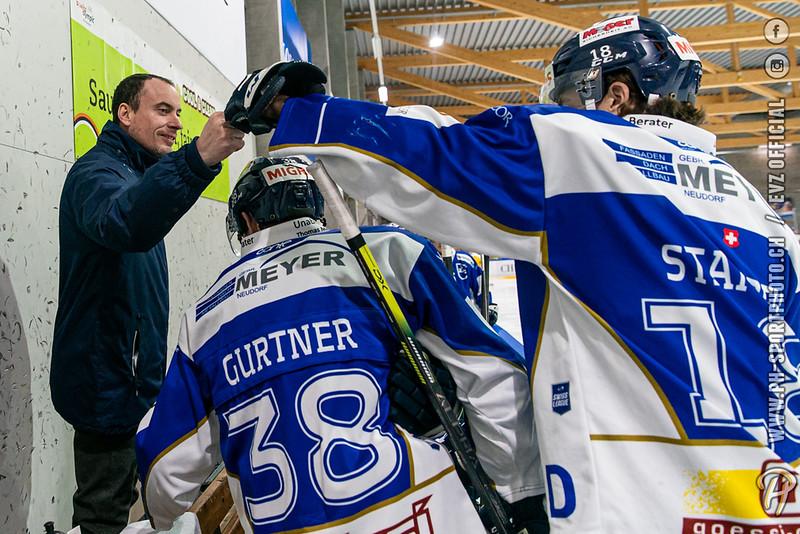 Swiss League - 19/20: EVZ Academy - HC Ajoie - 15-02-2020