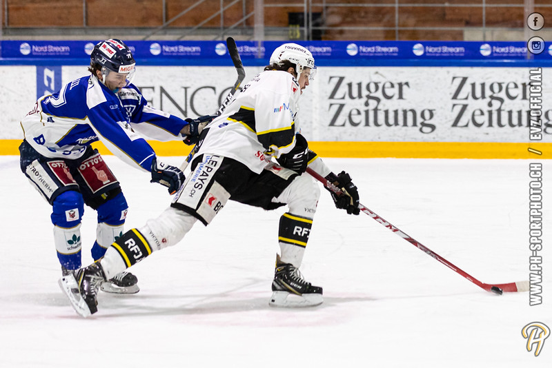 Swiss League - 19/20: EVZ Academy - HC Ajoie - 15-02-2020