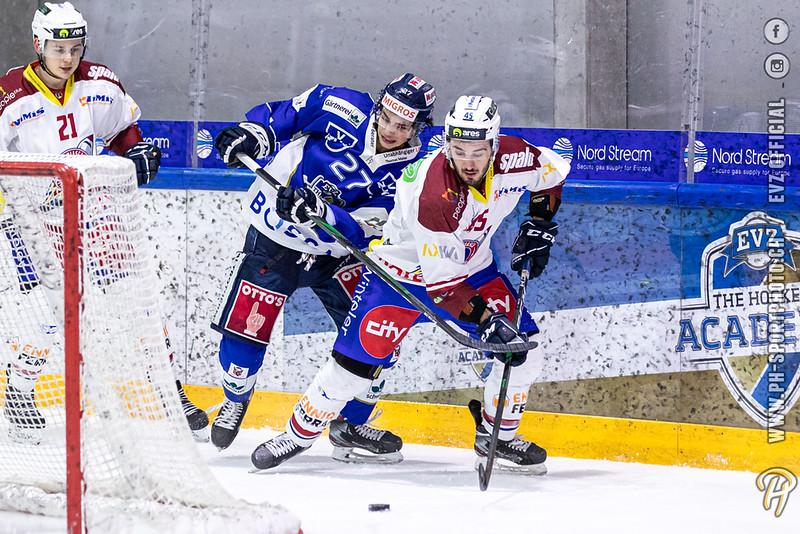 Swiss League - 19/20: EVZ Academy - HC Biasca Ticino Rockets - 28-02-2020